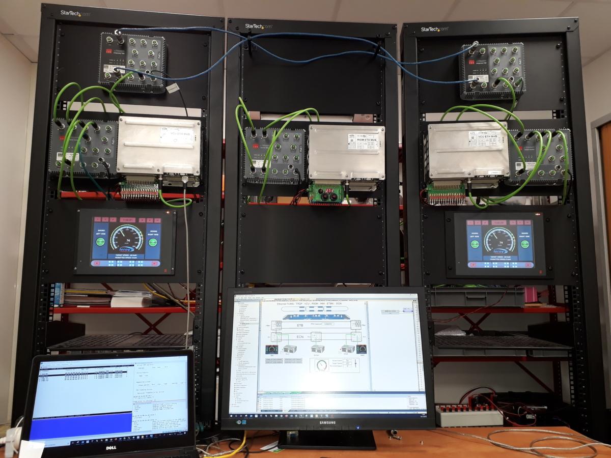 TCMS : Test Bench & IEC 61375-2-3 TRDP